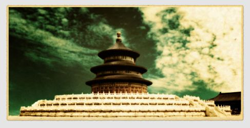 Temple of Heaven Beijing China 2003 by davidmcb