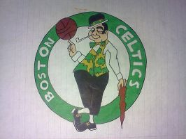 Boston Celtics by Juicebox617
