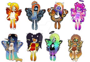 Xynthii Butterfly adopts! || closed by Tenshilove