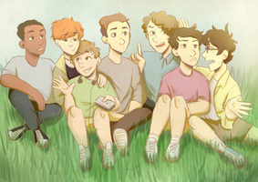 The Losers Club by HeartlessDark