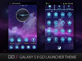 GALAXY S II Go Launcher Theme by giouiteam