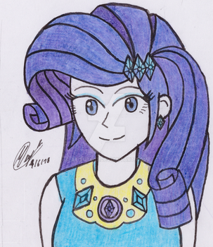 MLP - Rarity Colored by atisuto17