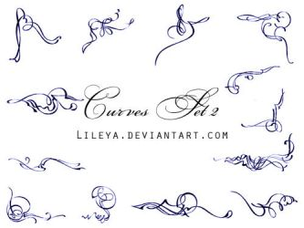 Curves - set2 by Lileya