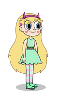 Star Butterfly - Spring Attire by Thronestorm690