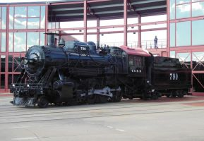 Illinois Central 2-8-0 No. 790 by rlkitterman