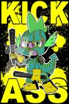 Kick-Ass Spike by DarkMirrorEmo23
