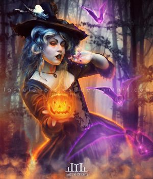 Night of Witchcraft by LaercioMessias