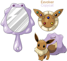 PSC- Eevee and Ditto by Lybra1022