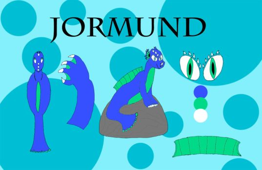 Reference: Jormund the Sea Serpent (2017) by titanvicegrip101