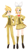 Kagamine Set Download by AlexIsDeadddx