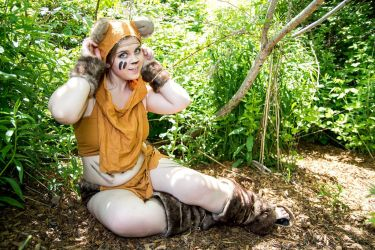 Greetings from Endor by Red-Ribbon-Cosplay