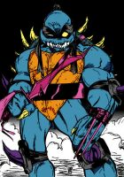 Tmnt   Slash By Channandeller by Kenkira