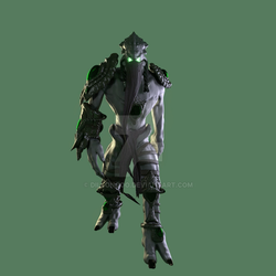 Zeratul Walk Cycle (3D Fan Art) - Front by dillongoo