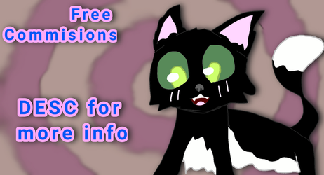 Free commissions by Creeperbb11