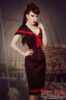 Miss Katie Collar Corset by ladymorgana