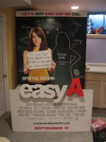Easy A Standee by LeaveItToVi