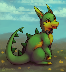 Justin the Dragon by Lambity