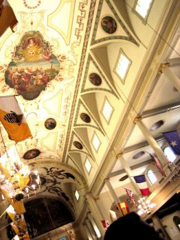 St. Louis Cathedral Interior by MankettePenguin