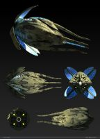 Presentation - Vorlon Fighter by dlamont