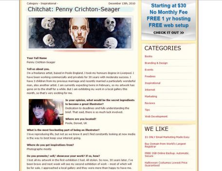 Interview with Penny.C.S by halimpeter