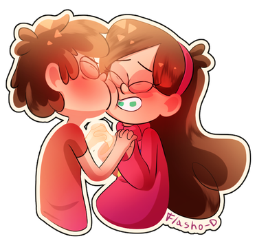 Cute Kiss by Flasho-D