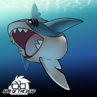 #PokeMonday - Sharpedo by AdriOfTheDead