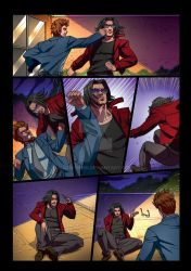 Night Wolf Comic Book Issue #2 Page 16 Colors by RAM-Horn