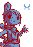 3 Colour Wind Waker Tetra by squeezycheesecake