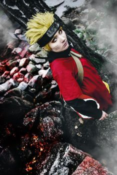 Naruto Sage Mode Cosplay by a4th