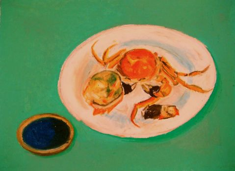 Nourishment || One and a Half of a Crab by ruilinf