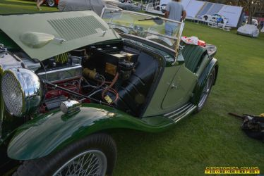 Green Antique MG Automobile engine March 10, 2017 by ENT2PRI9SE
