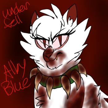 Underfell Alby Blue by Levitikitty