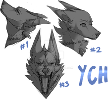 YCH headshots open by ttoska