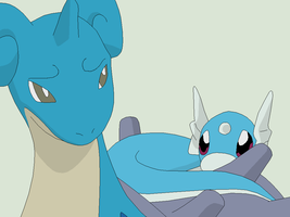 Pokemon Base 96~Lapras and Dratini 1~