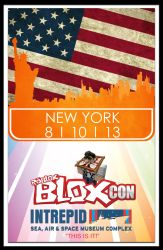 ROBLOX BLOXcon Poster Entry New York by CitizenXCreation