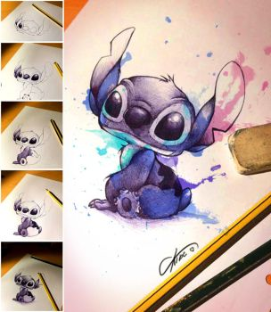 Stich loves you - Pen by CKibe