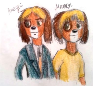 Amadeus and Markus by DinaTS