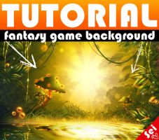 TUTORIAL - Fantasy Game Background by Seiorai