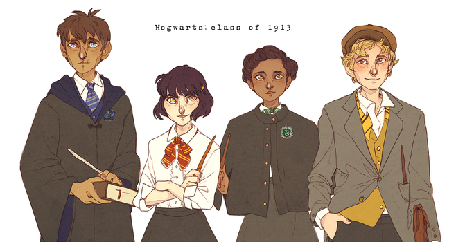 - Hogwarts Class Of 1913 - by HennaFaunway
