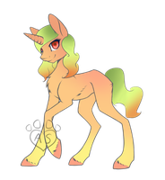 Mango Themed Pony Adopt (1 POINT SB) (CLOSED) by Adoptables-station