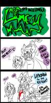 LimeyMan Comic by DesEmeraudes