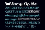 army of me font by weknow