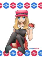 Serena! by MyHeartGold