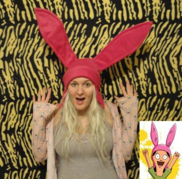 Louise Bobs Burgers Hat by HatcoreHats