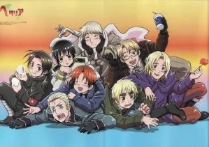 Hetalia x Depressed Country Reader by Xironrose on DeviantArt
