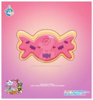 Kawaii Candy Sugar Cookie by KawaiiUniverseStudio