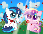 Love is in Bloom by SpellboundCanvas