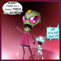 Invader Zim by What-the-Gaff