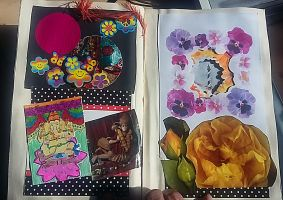 My Second Altered Book Page 5 by angelstar22