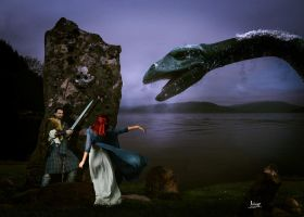 Meeting with Nessie by Julianez